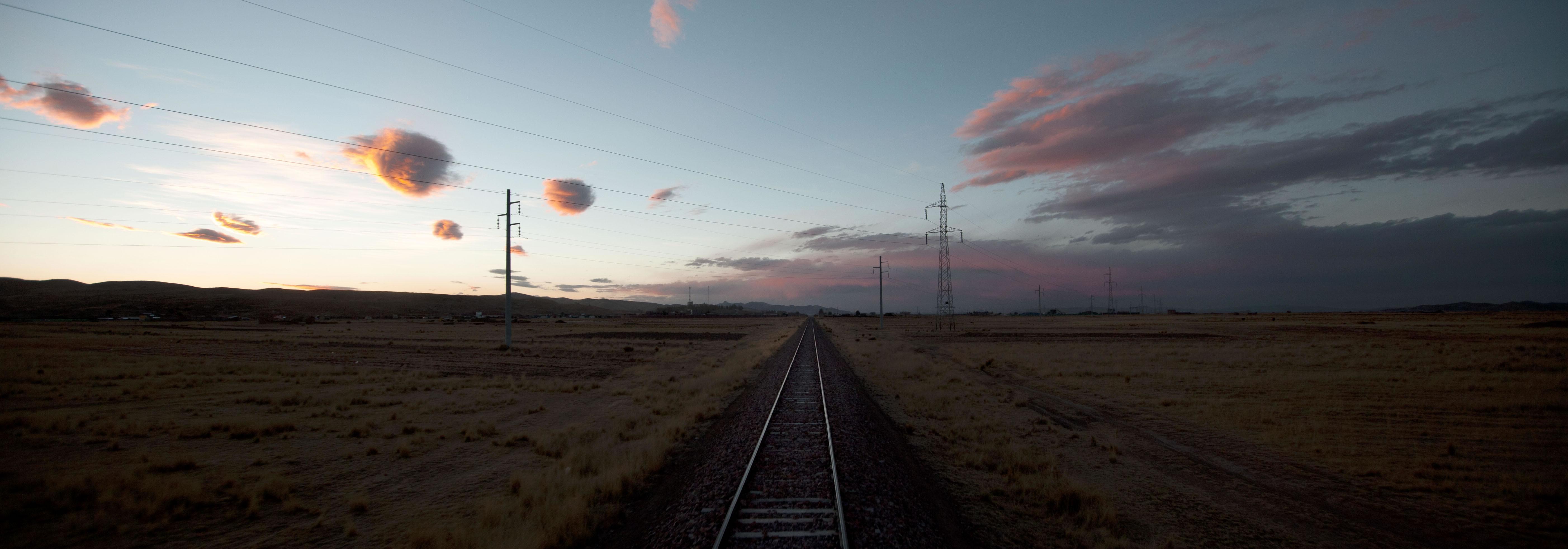 llegando a puno en tren